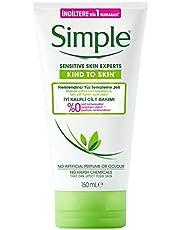 Simple Nemlendirici Yüz Temizleme Jeli 150 ml 1 Paket (1 x 150 ml)