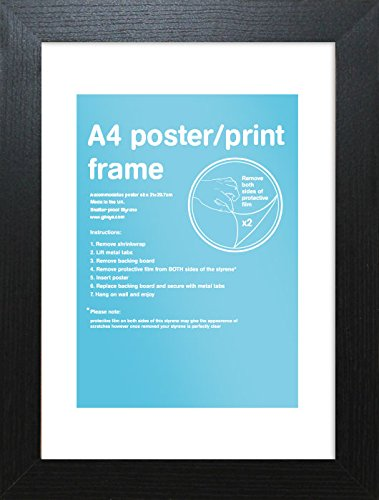 Gb Eye Limited Fma4a1bk 297 X 21 Cm A4 Black Frame Amazoncouk
