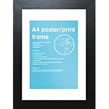 GB eye FMA4A1BK Black Wooden A4 Poster Frame 29.7 X 21cm