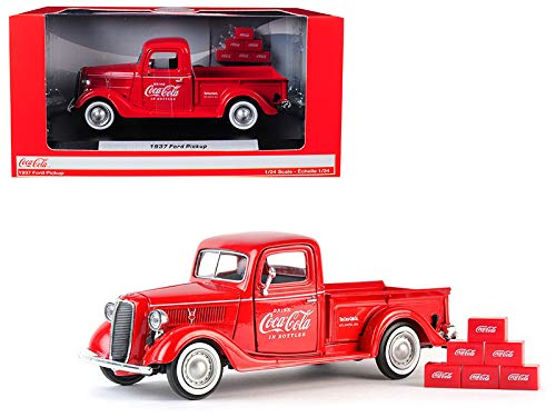 (Coca-Cola 1/24 1937 Ford Pickup with 6 Bottle)