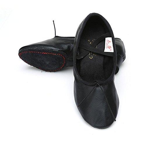 Danse Latine Hroyl Coton Salle En Bal Jazz ct Noir2 Modle Cuir De Chaussures pt TEqwwf6p