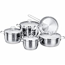 YBM Home Korkmaz 9 Piece Cookware Set, Null, Null