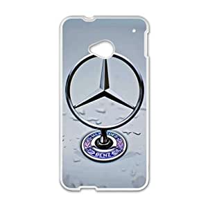 SANYISAN Benz sign fashion cell phone case for HTC One M7