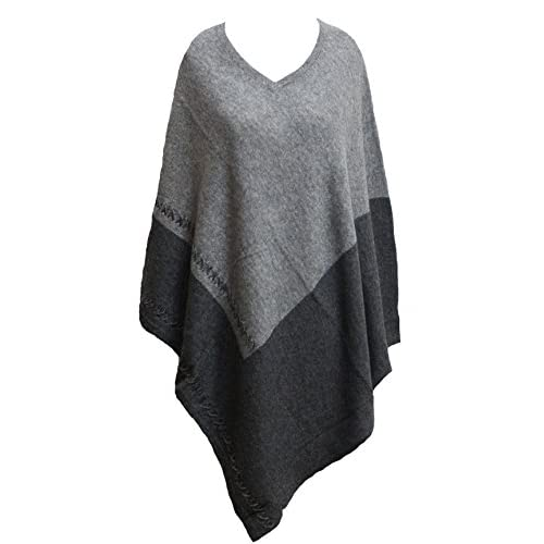 Exclusive Cashmere Poncho - Natural Color Pure Himalayan Cashmere - Handmade in Nepal supplier