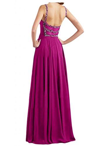Toscana sposa incantesimo benda Empire stanotte abiti da sposa giovane lontano dalla lunga Chiffon Party Bete ball vestimento viola 46
