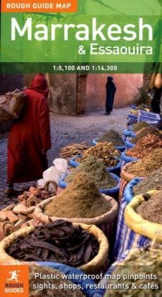 Rough Guide Map Marrakesh (Rough Guide Maps)