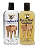 Howard Butcher Block Conditioner and Cutting Board Oil 12 oz, Food...
