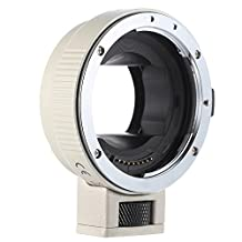 Andoer® Auto Focus AF EF-NEXII Lens Mount Adapter Ring for Canon EF EF-S Lens to Sony NEX E Mount 3 3N 5N 5R 7 A7 A7R A7S A5000 A5100 A6000 Full Frame