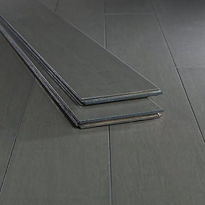 Bamboo Flooring Chrome Dark Strand