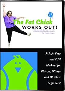 Amazon Com The Fat Chick Works Out A Safe Easy And Fun Workout For Klutzes Wimps And Absolute Beginners Jeanette Depatie Jeanette Depatie Movies Tv