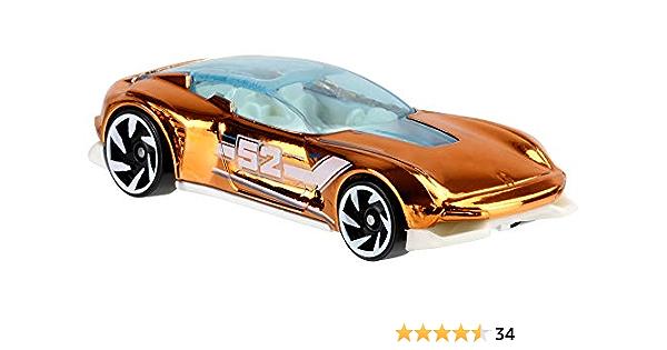 Pearl /& Cromo Serie 1:64 Nuevo Hot Wheels GJW48-50 Fast-Bed Hauler #52 Blanco