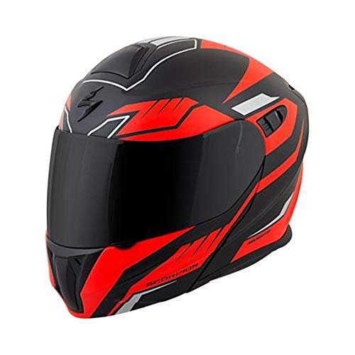 (Scorpion EXO-GT920 Helmet - Shuttle (LARGE) (BLACK/RED))