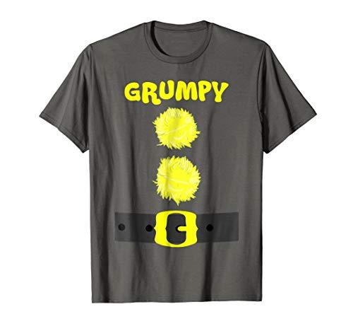 Grumpy Dwarf Birthday And Christmas Group T-shirt ()