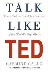 Talk Like TED Paperback