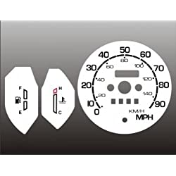 1986 Suzuki Samurai NO TACH White Face Gauges 86-88