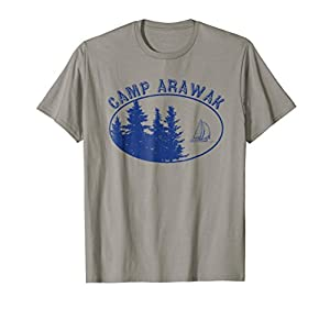 Camp Arawak Shirt Retro Summer Camp T-Shirt from Summer Camp T-Shirts