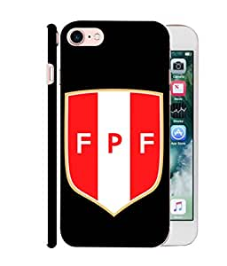 ColorKing Football Peru 08 Black shell case cover for Apple iphone 7