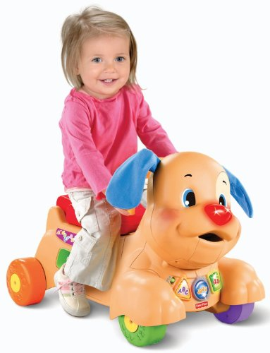 Fisher Price Laugh Learn Stride to Ride Puppy