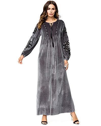 Medeshe Muslim Dress Dubai Kaftan for Women Long Sleeve, used for sale  Delivered anywhere in USA