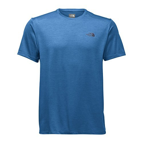 The North Face Men's Hyperlayer FD Short Sleeve Crew - Shirt - Turkish Sea Heather - M [並行輸入品] B07F4FFB8B