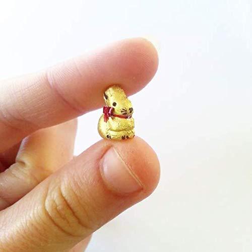 1:12 Dollhouse miniature Lindt Golden Bunny