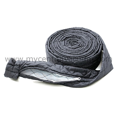 Central Vacuum Hose Sock, Zippered, for 35-Foot Hoses