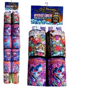 """Ed Hardy """"True Love"""" Can Cooler (Assorted Colors) For Sale"""