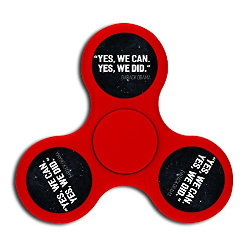Price comparison product image I Miss Obama Fidget Spinner Official Anti-Anxiety 360 Spinner Helps Focusing - Fidget Toys [3D Figit] For Kids Stress Reduce Adhd Anxiety Steel Bearing