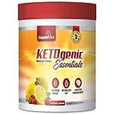 Ketogenic Essentials Exogenous Keto Powder Drink Mix - BHB Ketones - Zero Sugar, Zero Carbs, Zero Caffeine - Inch and Weight Loss - Raspberry Lemonade