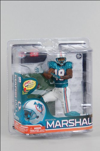 (NFL Miami Dolphins McFarlane 2011 Series 26 Brandon Marshall Action)