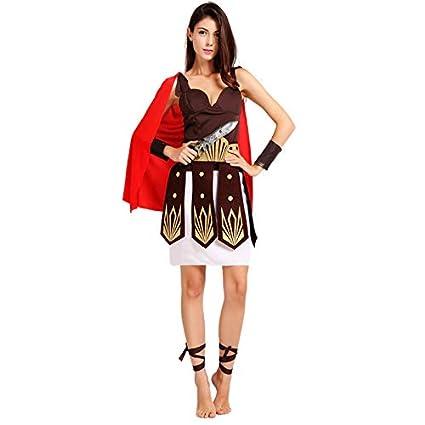 Macxy - Traje de Gladiador de Halloween para Adultos Purim ...