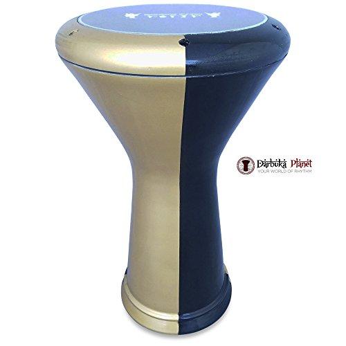 17'' Golden Spark Percussion Percussion Gawharet El Fan & ZAZA Percussion Joint Venture Darbuka Drum Doumbek by Gawharet El Fan/ZAZA Percussion