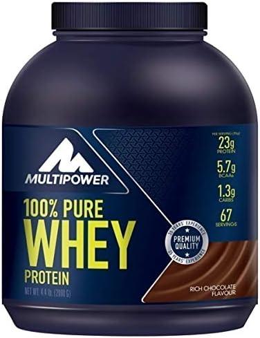 Multipower 100% Whey Protein Coffee Caramel - 2000 gr