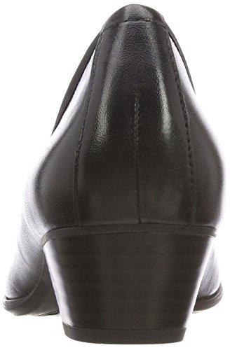 con Caprice Scarpe Nero Black Donna 22300 Nappa 22 Tacco wUPq5EUxKr