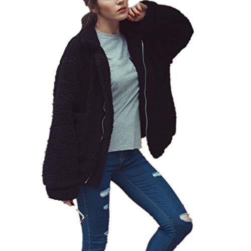 Chair Leather Denver (XOWRTE Women's Casual Jacket Winter Warm Parka Coat Overcoat Outwear)