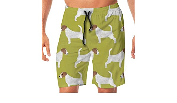TR2YU7YT Baby with Unicorns Casual Mens Swim Trunks Quick Dry Printed Beach Shorts Summer Boardshorts Bathing Suits with Drawstring