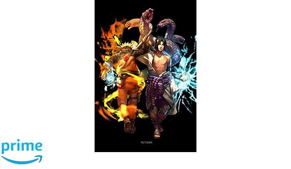 Konoha Ninja Chakra Blazing Fire And Ligthing Snake NoteBook ...