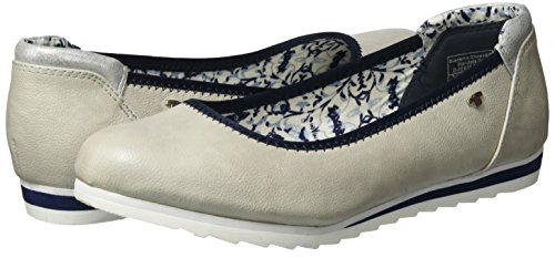 Toe Women's Flats Ballet Closed 2790103 Tailor Tom ice Gray xfwqUnHZ