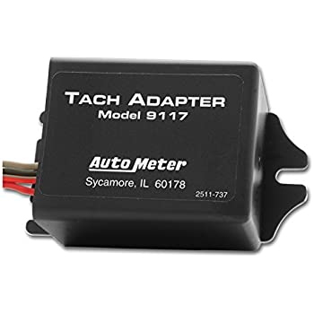 amazon com auto meter 9117 tachometer adapter automotive this item auto meter 9117 tachometer adapter