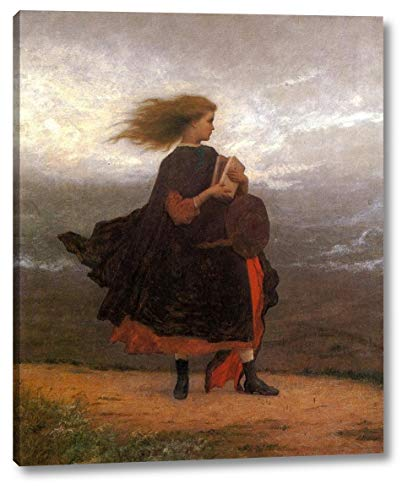 The Girl I Left Behind Me by Eastman Johnson - 15