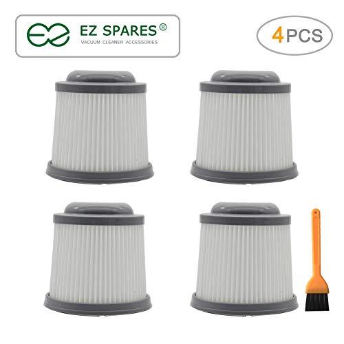 EZ SPARES Replacement for Filter,Black & Decker Vacuum Cleaner,PVF110 PHV1810 PHV1210 BDH2000PL Part 90552433-03(4PCS) (Black Decker Cleaner Filter)