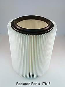 Craftsman/Ridgid Shop-vac generic Replacement Cartridge Filter