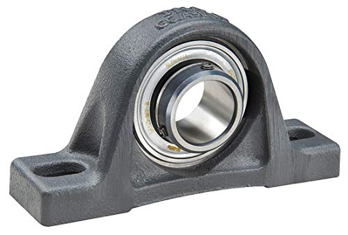 Pillow Block Bearing, Number of Bolts: 2, Ball Bearing Type, 70mm Bore Dia. by INA