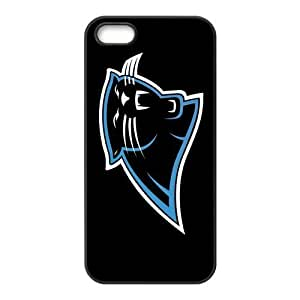 Custom Carolina Panthers Back Cover Case for iphone 5,5S JN5S-1734