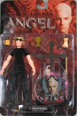 Angel Season 5 SPIKE James Marsters Action Figure from BUFFY the Vampire Slayer BTVS