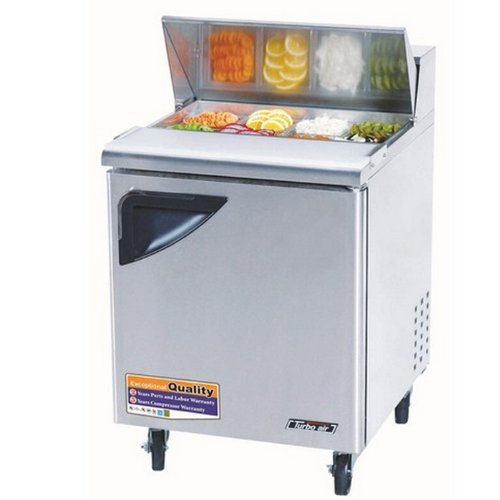 Sandwich Top Refrigerated Counter - Turbo Air TST-28SD, 27.5
