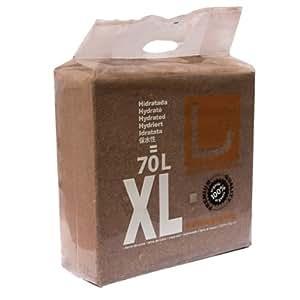 Sustrato / Bloque / Ladrillo Fibra de coco deshidratado U-Gro XL (5kg-70L)