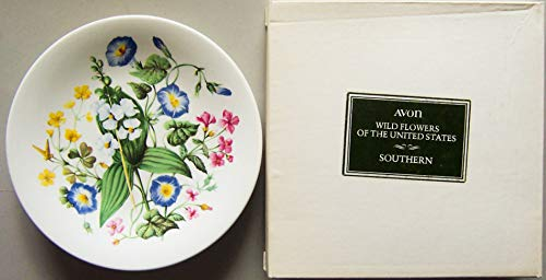 Wild Flowers Of The Southern United States Avon Collector Plate