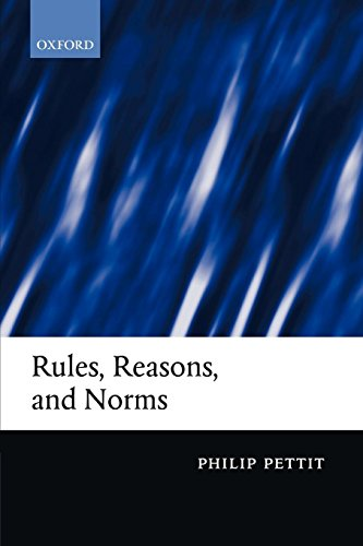 Rules, Reasons, and Norms: Selected Essays by Clarendon Press