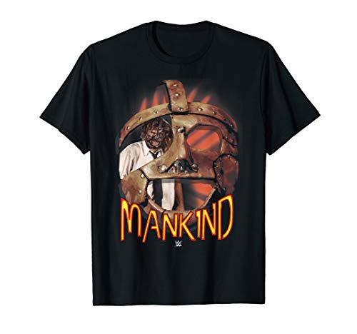 WWE Mankind Mask  T-Shirt -